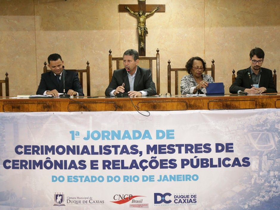 Câmara de Caxias recebe 1ª Jornada de Cerimonialistas do Estado