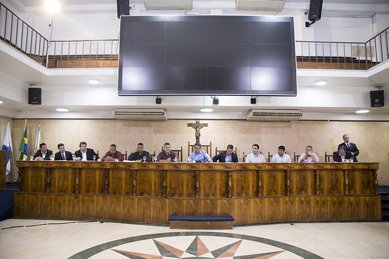Câmara recebe audiência sobre Central de Abastecimento de Caxias