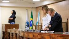 Câmara Municipal faz minuto de silêncio por falecimento de ex-vereador