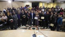 Vereador Arthur Monteiro homenageia pastores em solenidade
