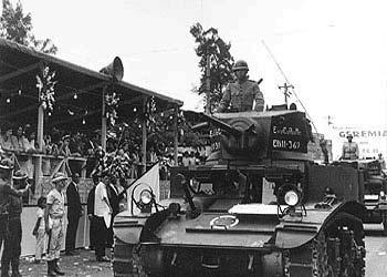 Militares prestigiam evento na cidade