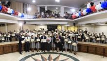 Obreiros são homenageados na Câmara de Vereadores de Duque de Caxias