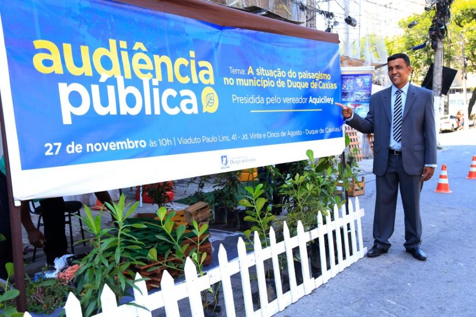 Audiência Pública discute sobre paisagismo em Caxias