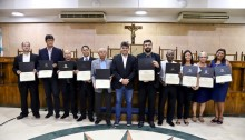 Vereador Eduardo Moreira homenageia líderes religiosos das Igrejas Evangélicas Congregacionais do Brasil