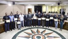 Vereador Gilberto Silva homenageia o Conselho Regional de Educação Física/RJ